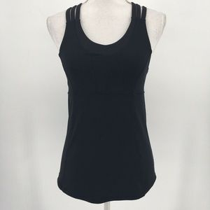 Lululemon Top Beat The Heat Tank Strappy Crossback